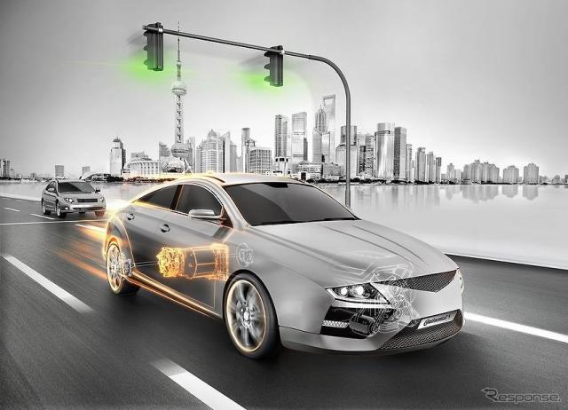 EV、ハイブリッド車向けコンポーネント のイメージ《画像 コンチネンタル》