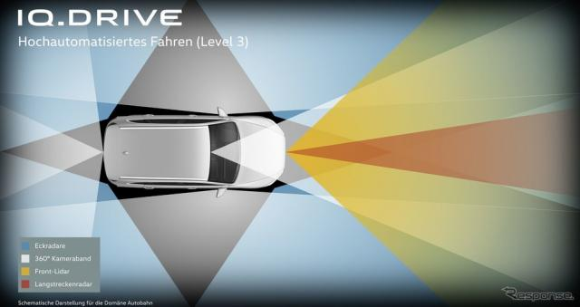 フォルクスワーゲンの新開発の自動運転システムのイメージ《photo by Volkswagen》