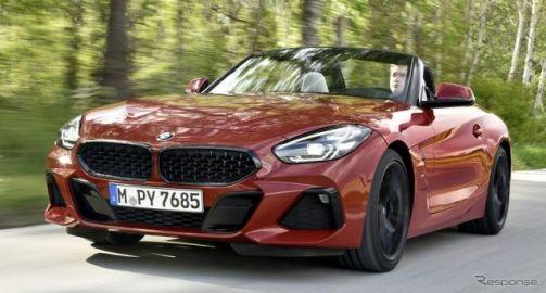 BMW Z4 新型、兄弟車 スープラ にはない6速MT設定へ