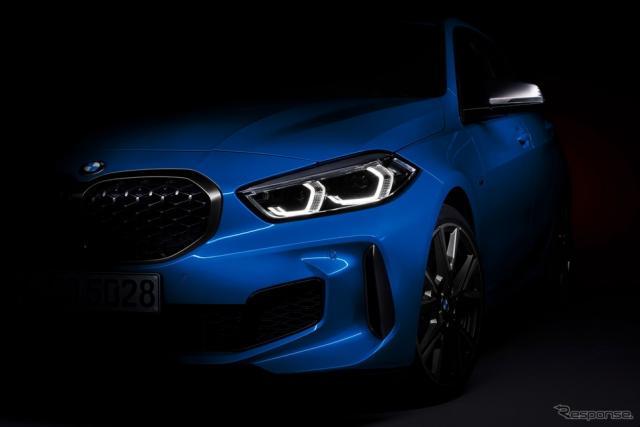 BMW 1シリーズ 新型のティザーイメージ《photo by BMW》