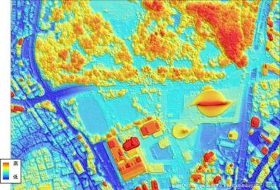 NTTデータとRESTEC、デジタル3D地図を開発
