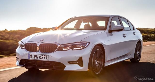 新型BMW 3シリーズ の 330eセダン《photo by BMW》