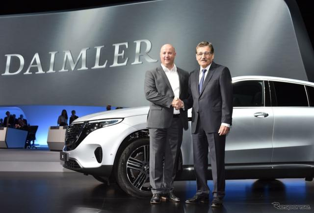 ダイムラーの組織再編が株主総会で承認《photo by Daimler》