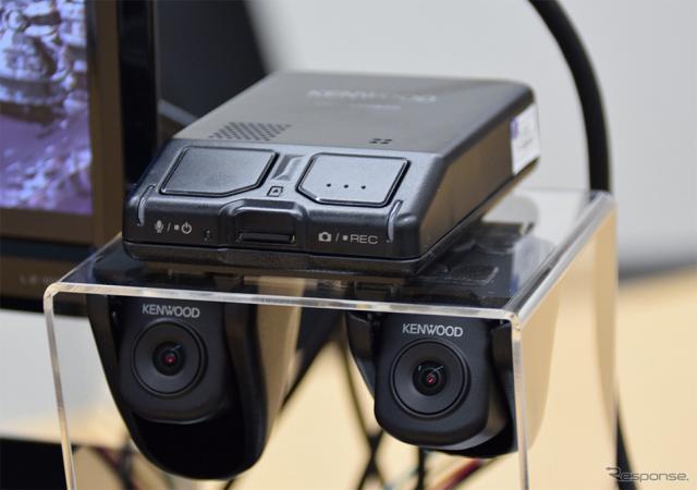 ケンウッド ナビ連携型2カメラドライブレコーダー DRV-MN940《画像 ケンウッド》
