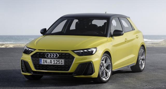 アウディA1スポーツバック新型《photo by Audi》