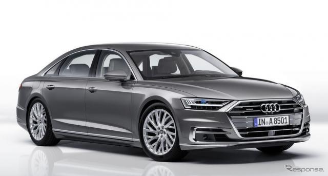 アウディ A8 新型(参考画像)《photo by Audi》