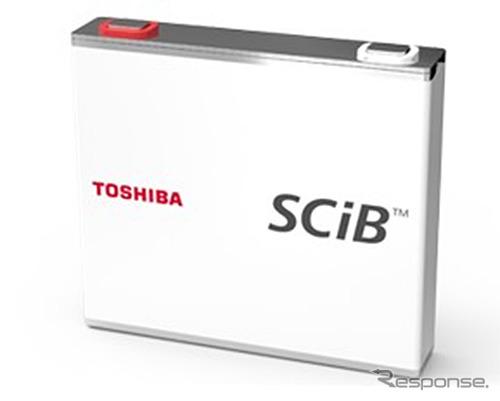 東芝の二次電池 SCiB《写真 東芝》