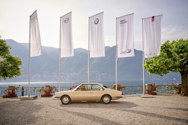 コンコルソ・デレガンツァ・ヴィラデステ2019に展示されたBMWガルミッシュ《photo by BMW》