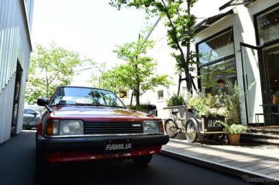 赤い ファミリア、マツダ3 新型発表会に展示[詳細画像]