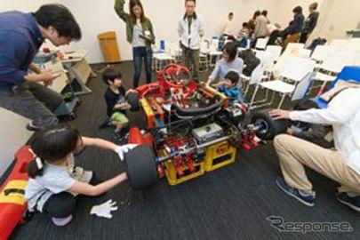「親子電気レーシングカート組立体験&最新EV試乗」参加者募集中、6月23日開催