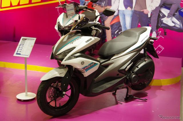 フィリピンで最も人気のスクーター(AT車)ヤマハ『MIO』(写真はMIOエアロックス)《撮影 宮崎壮人》