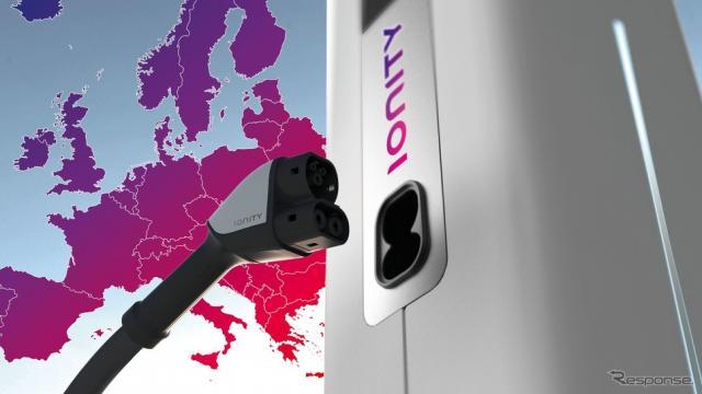 ポルシェが合弁事業として参画している超急速充電ネットワーク、「イオニティ」のイメージ《photo by Porsche》