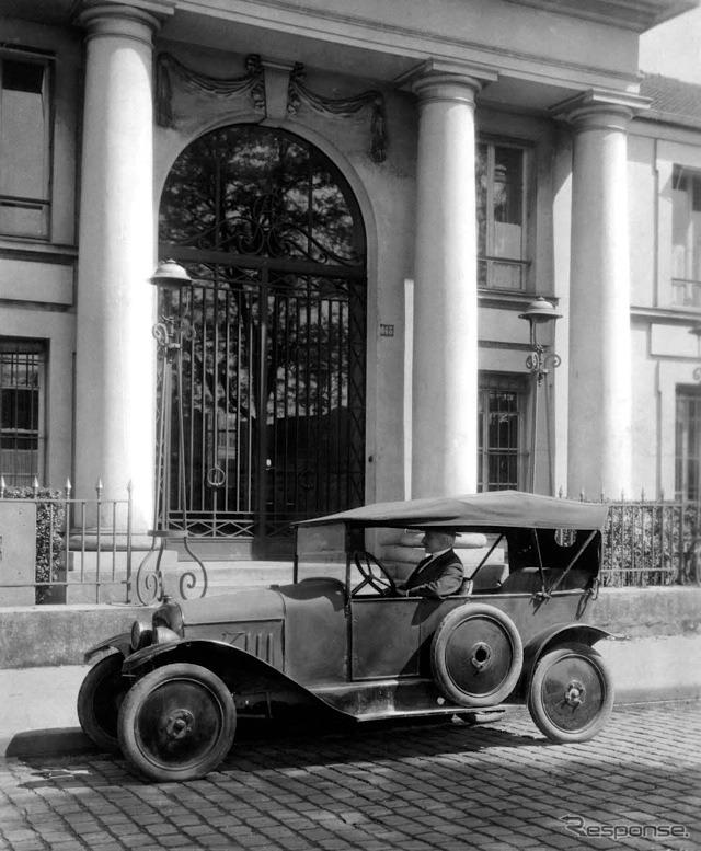 シトロエン・タイプA(1919年)《photo by Citroen》