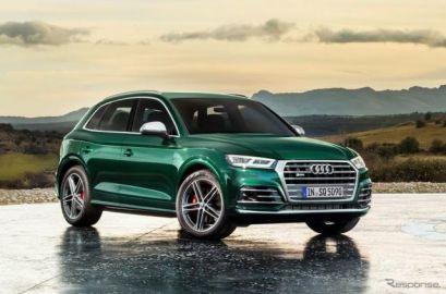 アウディ SQ5 新型に高性能ディーゼル、ガソリンより速い…今夏欧州発売へ