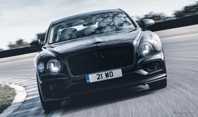 ベントレー・フライングスパー 新型の開発プロトタイプ《photo by Bentley》