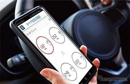 ソフト99、タイヤの異常を音と光で通知する「ドライバーコンパス」発売へ