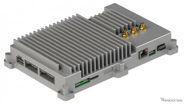 コクピット・リファレンスソリューションのハードウェアであるECU(電子制御ユニット)