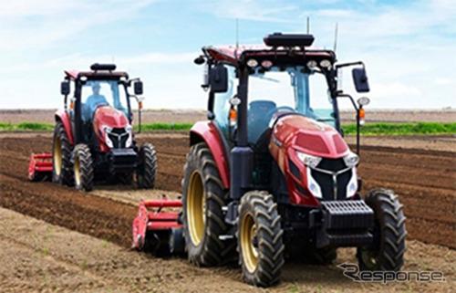 ヤンマーアグリ、農機の自動運転および運転アシスト《写真 ソフトバンク》