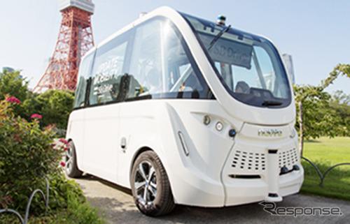 SBドライブ、バスなどの自動運転および運転アシスト《写真 ソフトバンク》