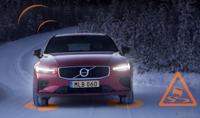 ボルボカーズが車両同士で通信しクラウドで危険を警告するプロジェクトに参画《photo by Volvo Cars》