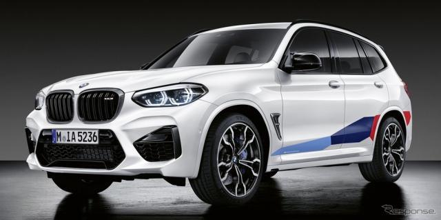 BMW X3M のMパフォーマンスパーツ《photo by BMW》