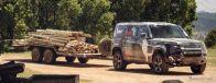 ランドローバー・ディフェンダー 新型の最新プロトタイプ《photo by Land Rover》