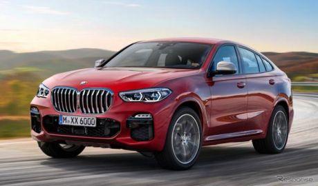 BMW X6 も電動化へ…迫力アップの新型、発表はフランクフルトショーか