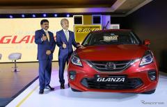 スズキがトヨタに初のOEM供給、バレーノ ベースのトヨタ車をインドで発表