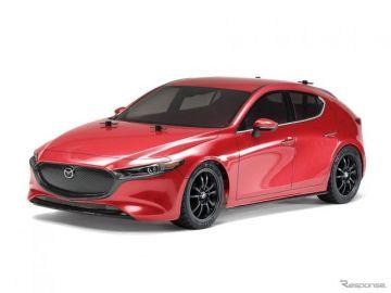 【マツダ3 新型】早くも1/10電動RCカー登場、タミヤが7月20日頃より発売