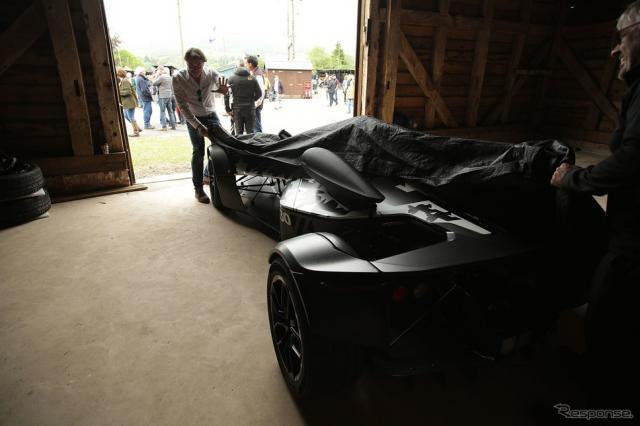 BACの新型車のティザーイメージ《photo by BAC》