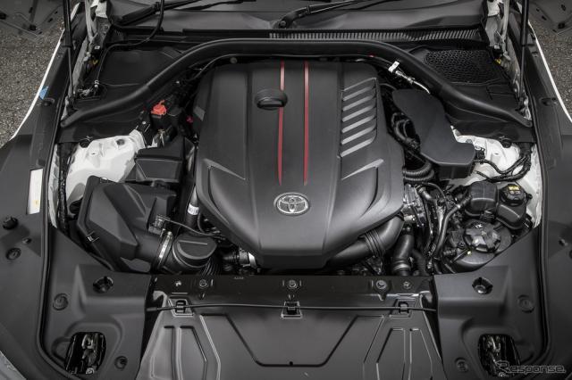 トヨタ スープラ 新型の直6エンジン(RZ)《撮影 山内潤也》