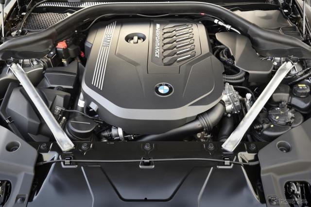 BMW Z4 新型の直6エンジン《画像 BMW》