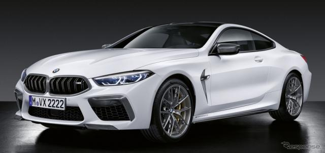 BMW M8 新型のMパフォーマンスパーツ《photo by BMW》