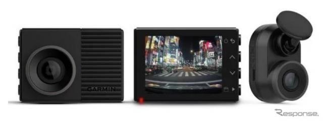 ガーミン、あおり運転にも対応する前後2カメラをセットにしたドライブレコーダーを発売