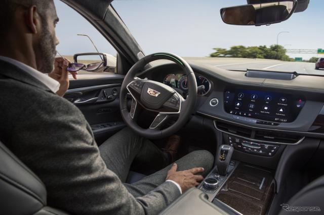 ハンズフリーの部分自動運転が可能なキャデラックのスーパークルーズ《photo by Cadillac》
