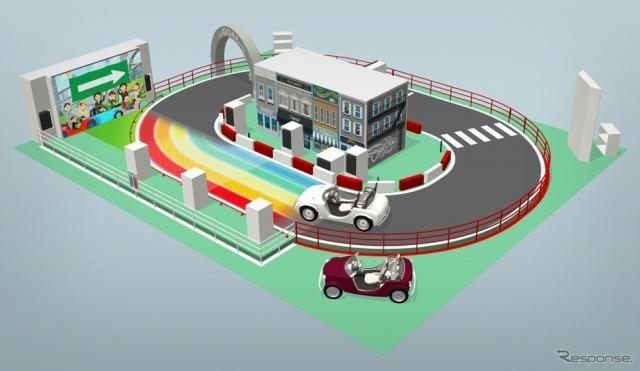 運転しながら人や街とつながるトヨタ「カマッテコネクション」…東京おもちゃショー2019出展予定
