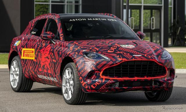 アストンマーティン DBX の最新プロトタイプ《photo by Aston Martin》