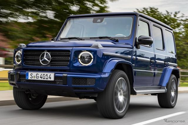 メルセデスベンツ Gクラス の40周年記念車《photo by Mercedes-Benz》