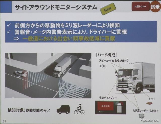 日野自動車安全技術試乗会《撮影 中尾真二》