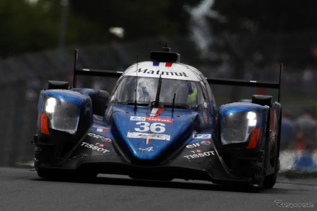 LMP2クラス優勝、#36 アルピーヌA470-ギブソン《photo by Getty Images》