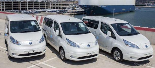 日産 e-NV200 改良新型、商用EV最量販に…欧州受注が1万台突破