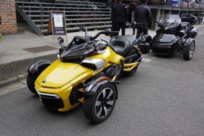 【カンナム ライカー 試乗】オープンカーとは違う爽快さ、注目度はスーパーカー並み…丸山誠