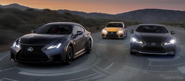 レクサス セーフティ システム+を全車に標準装備する米2020年モデル《photo by Lexus》