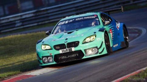ファルケンモータースポーツ、BMW M6 GT3は総合6位、ポルシェ 911 GT3Rは21位…ニュル24時間