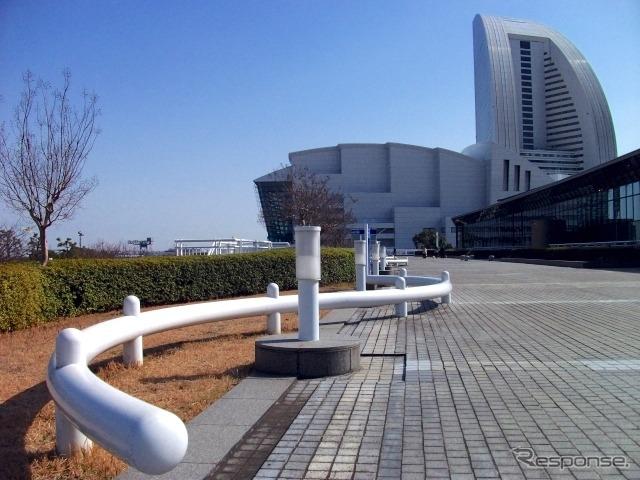 株主総会が開催されたパシフィコ横浜。《写真AC》