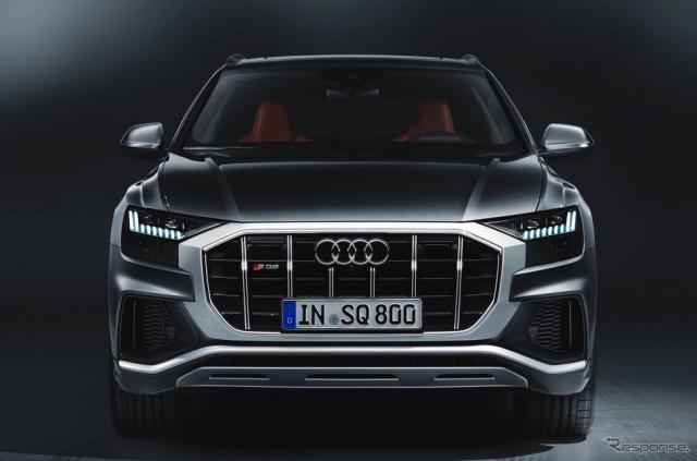 アウディ SQ8《photo by Audi》