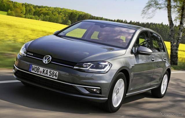 VW ゴルフ TGI 改良新型《photo by VW》