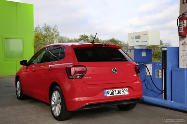 VW ポロ TGI 改良新型《photo by VW》
