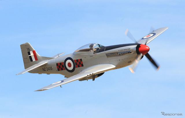 P-51マスタング保存機《photo by Getty Images》
