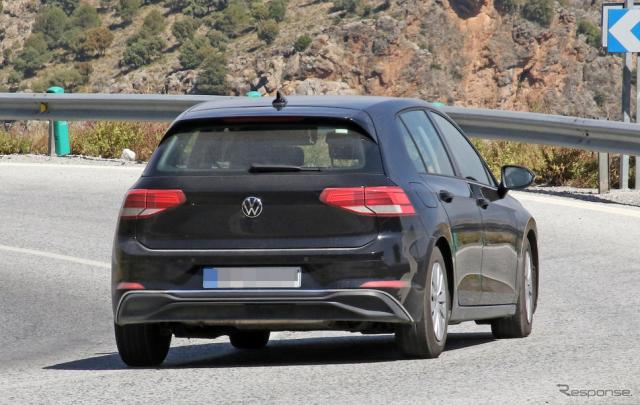 VW ゴルフ 新型(ゴルフ8)スクープ写真 《APOLLO NEWS SERVICE》